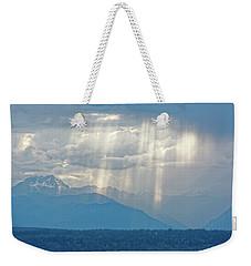 Light Through Clouds Weekender Tote Bag