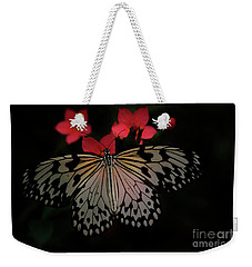 Light Through Rice Paper Wings Weekender Tote Bag