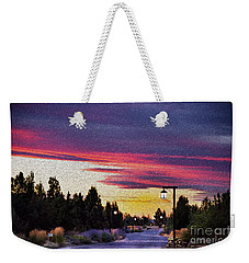 Light To My Path Weekender Tote Bag by MaryJane Armstrong