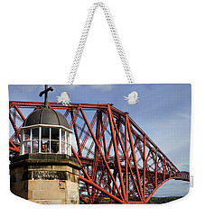 Weekender Tote Bag featuring the photograph Light Tower by Jeremy Lavender Photography