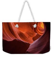 Light Tunnel - Antelope Lower Weekender Tote Bag