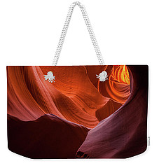 Light Tunnel - Antelope Lower Weekender Tote Bag