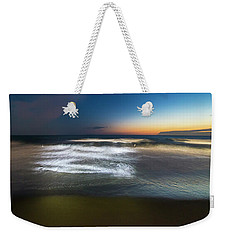Weekender Tote Bag featuring the photograph Light Waves At Sunset - Onde Di Luce Al Tramonto II by Enrico Pelos