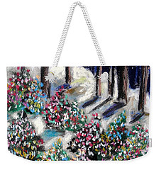 Lighted Path Weekender Tote Bag