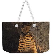 Lighted Stalagmite Weekender Tote Bag by James Gay