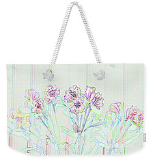 Lighter Side Azaleas Weekender Tote Bag