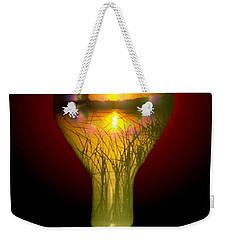 Lighthearted Sunset Weekender Tote Bag