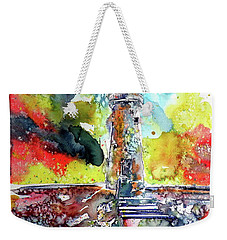 Lighthouse After Storm Weekender Tote Bag by Kovacs Anna Brigitta