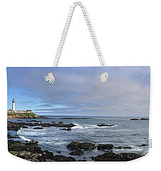 Lighthouse And Coastview Weekender Tote Bag