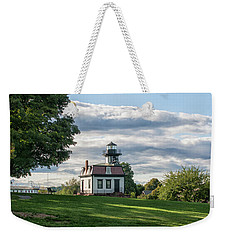 Lighthouse At Cape Cod Weekender Tote Bag