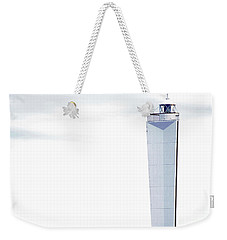 Weekender Tote Bag featuring the photograph Lighthouse At Cape Jervis by Stephen Mitchell