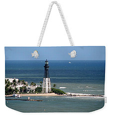 Lighthouse At Hillsboro Beach, Florida Weekender Tote Bag