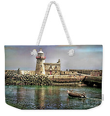 Lighthouse At Howth, Ireland Weekender Tote Bag