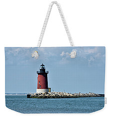 Delaware Breakwater East End Lighthouse - Lewes Delaware Weekender Tote Bag