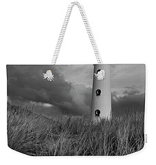 Lighthouse Bw Weekender Tote Bag