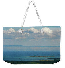 Lighthouse  From The Mountain  Weekender Tote Bag