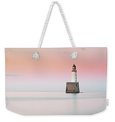 Weekender Tote Bag featuring the photograph Lighthouse Hues by Grant Glendinning