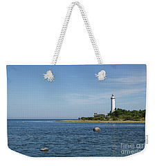 Weekender Tote Bag featuring the photograph Lighthouse In The Baltic Sea by Kennerth and Birgitta Kullman