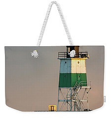 Lighthouse In The Sunset Weekender Tote Bag