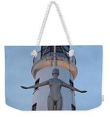 Lighthouse Lady Weekender Tote Bag