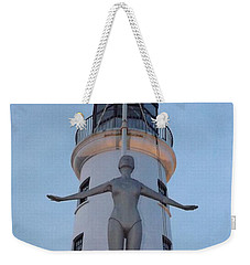 Lighthouse Lady Weekender Tote Bag
