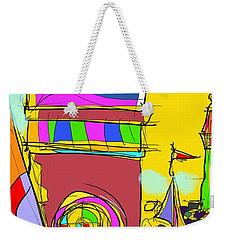 Lighthouse Landing Weekender Tote Bag