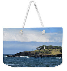 Weekender Tote Bag featuring the photograph Lighthouse by Pamela Walton