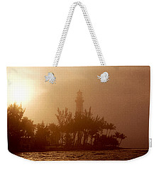 Lighthouse Point Sunrise Weekender Tote Bag