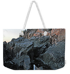 Weekender Tote Bag featuring the photograph Lighthouse Reflection by Glenn Gordon
