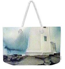 Lighthouse Rock Weekender Tote Bag