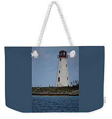 Weekender Tote Bag featuring the photograph Lighthouse Watch by Melissa Lane