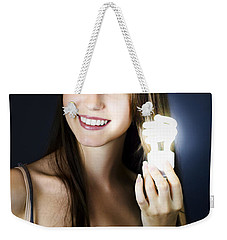 Weekender Tote Bag featuring the photograph Lighting The Way To Innovation by Jorgo Photography - Wall Art Gallery