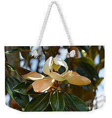 Weekender Tote Bag featuring the photograph Lightly Toasted by Maria Urso