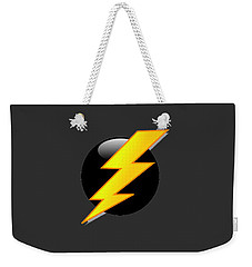 Lightning Bolt T-shirt Weekender Tote Bag