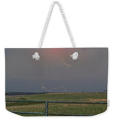 Lightning Bolt On A Scenic Route Weekender Tote Bag