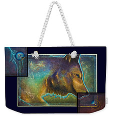 Lightning Path Weekender Tote Bag