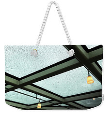 Under The Lights And Rain Drops Weekender Tote Bag
