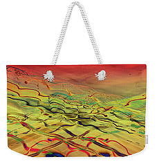 Weekender Tote Bag featuring the photograph Lights Go By My Window by David Pantuso