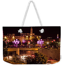Lights In Jerusalem Weekender Tote Bag