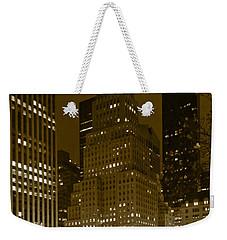 Lights Of 5th Ave. Weekender Tote Bag