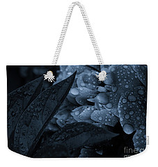 Weekender Tote Bag featuring the photograph Lights Off Sparkle On by Rachel Cohen