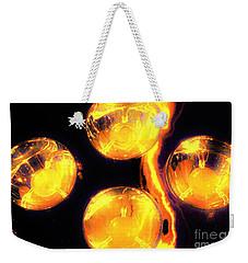 Lights Under Glass3 Weekender Tote Bag