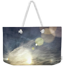 Weekender Tote Bag featuring the photograph Lightshow by Colleen Kammerer