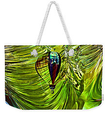 Weekender Tote Bag featuring the photograph Like A Balloon Behind The Curtains by Jeff Swan