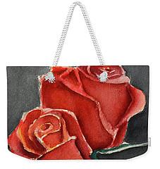 Like A Rose Weekender Tote Bag
