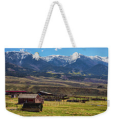 Like An Old Western Movie Weekender Tote Bag by James BO Insogna