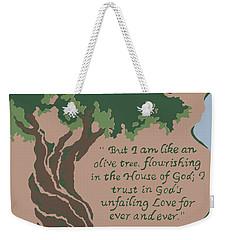 Like An Olive Tree Weekender Tote Bag