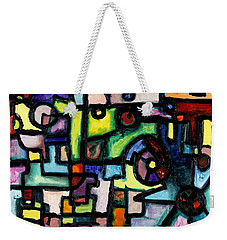 Like Clockwork Weekender Tote Bag by Regina Valluzzi