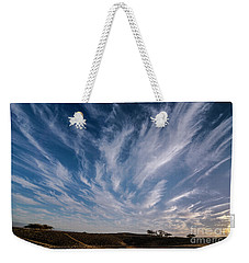 Like Feathers In The Sky Weekender Tote Bag