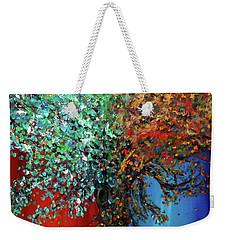 Like The Changes Of The Seasons Weekender Tote Bag